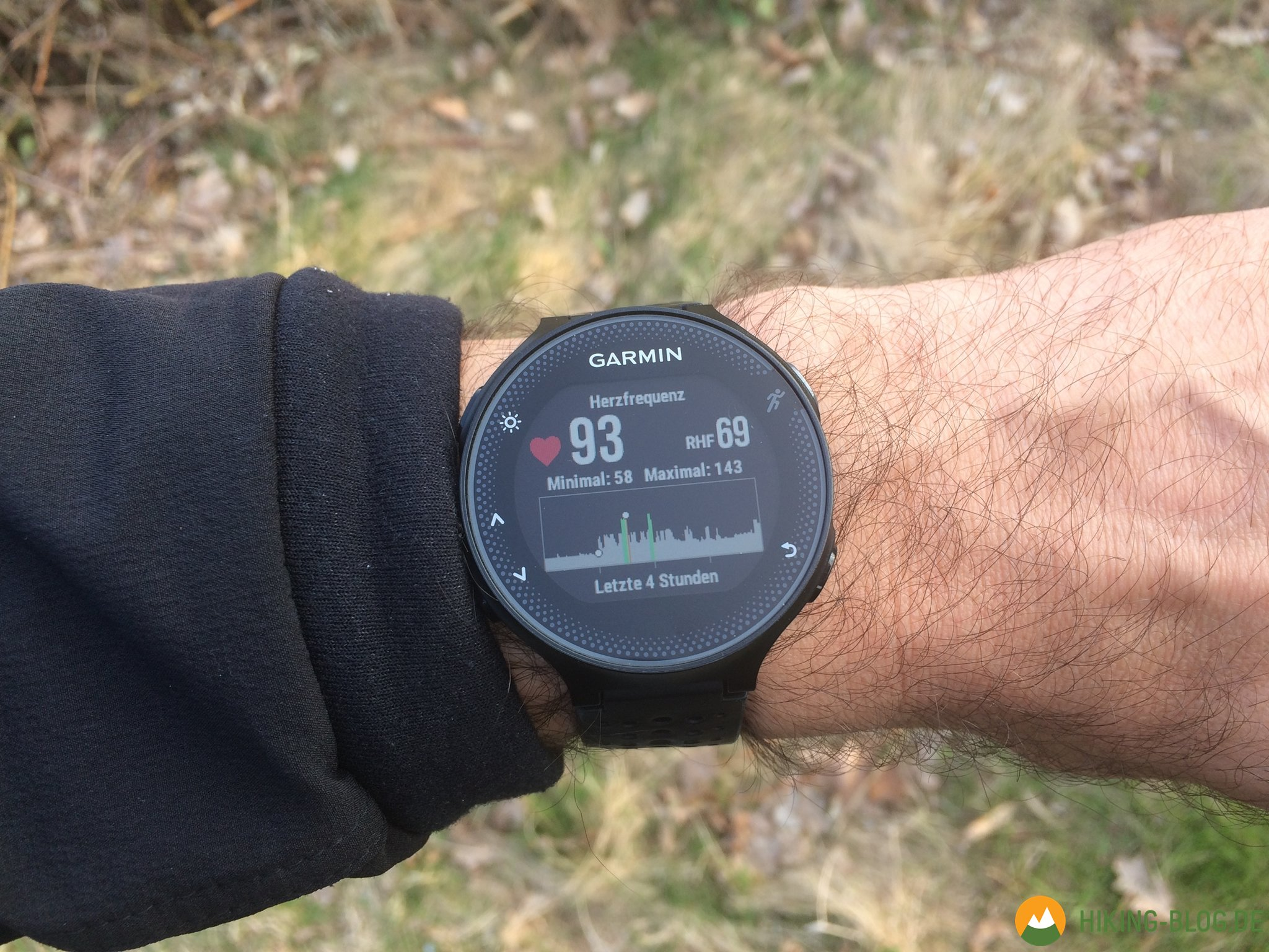 how to use gps on garmin forerunner 235
