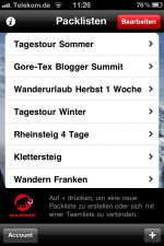 iphonemammutpackinglist