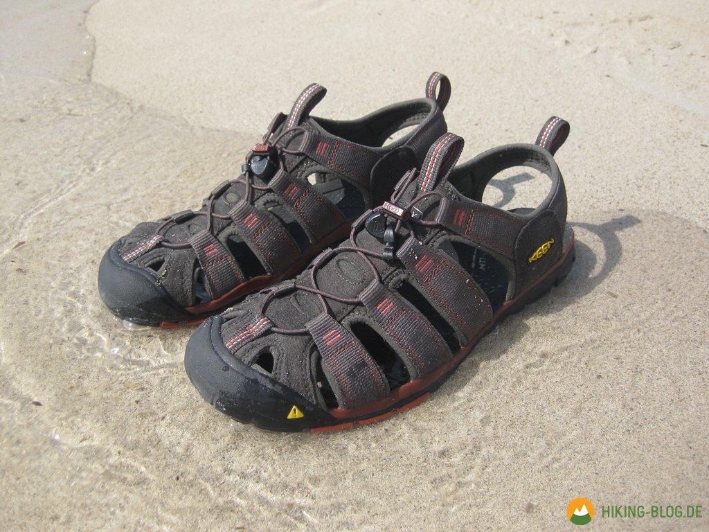 buy popular 6a2ae e5ae4 Praxistest: Keen Clearwater CNX Hybridsandale - Hiking Blog