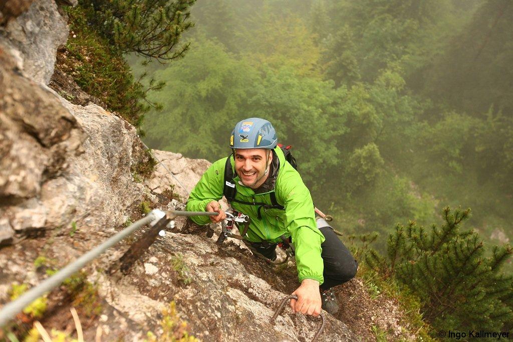 Klettersteig Ottenalm : Meine erste klettersteigtour in der kletterarena kaiserwinkl