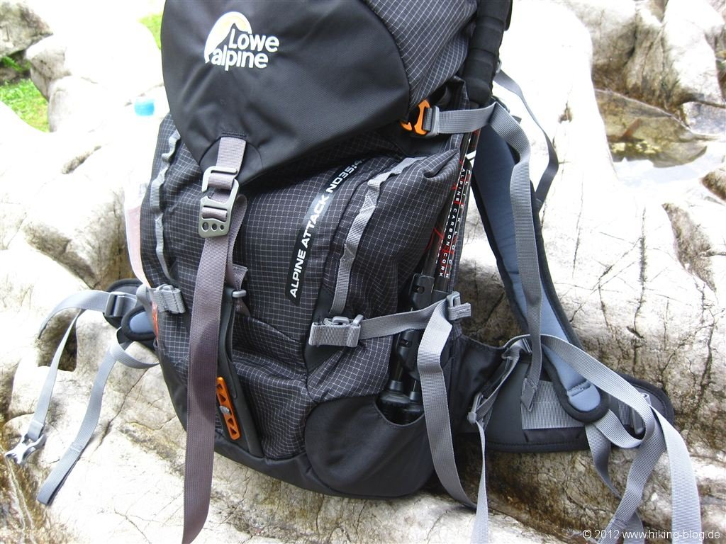 Decathlon Klettergurt Review : Praxistest: lowe alpine attack nd 35:45 rucksack hiking blog