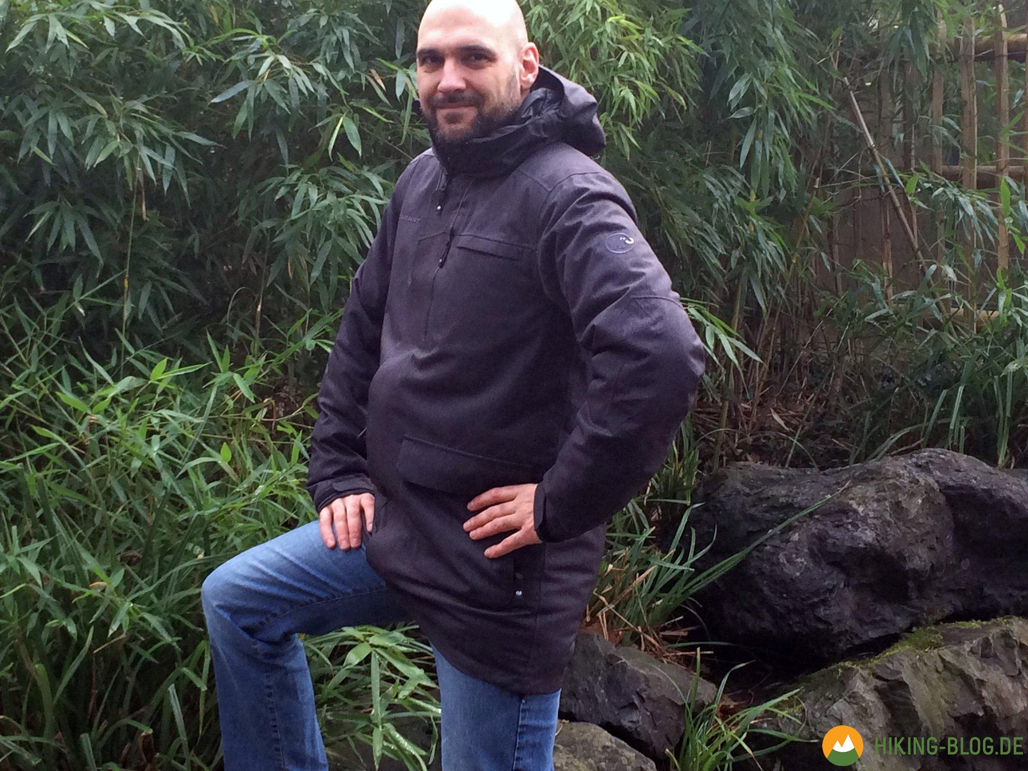 new concept d0e03 cd1dd Praxistest: Mammut Trovat HS Parka - Hiking Blog