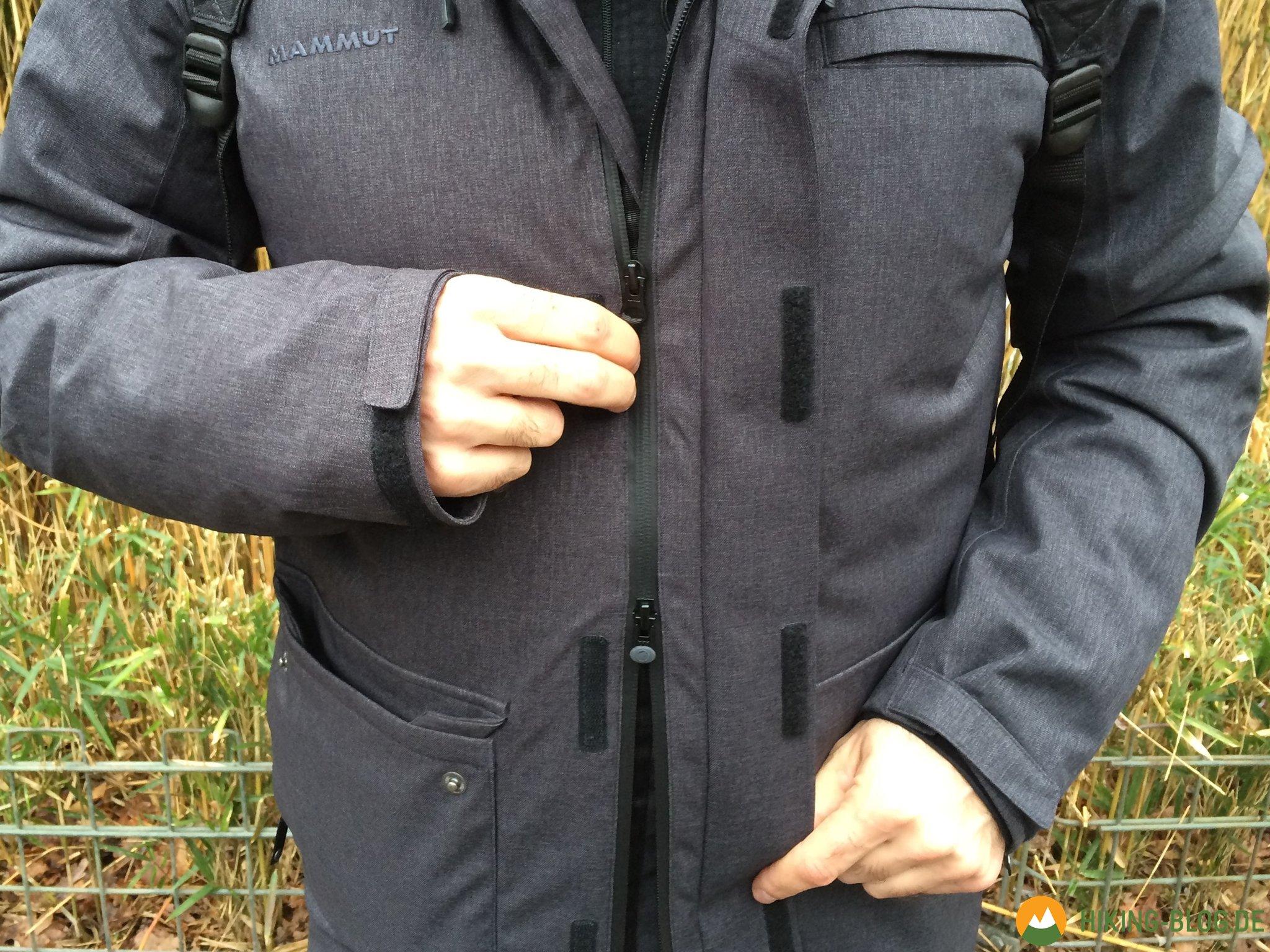 new concept a3f74 a5cdd Praxistest: Mammut Trovat HS Parka - Hiking Blog