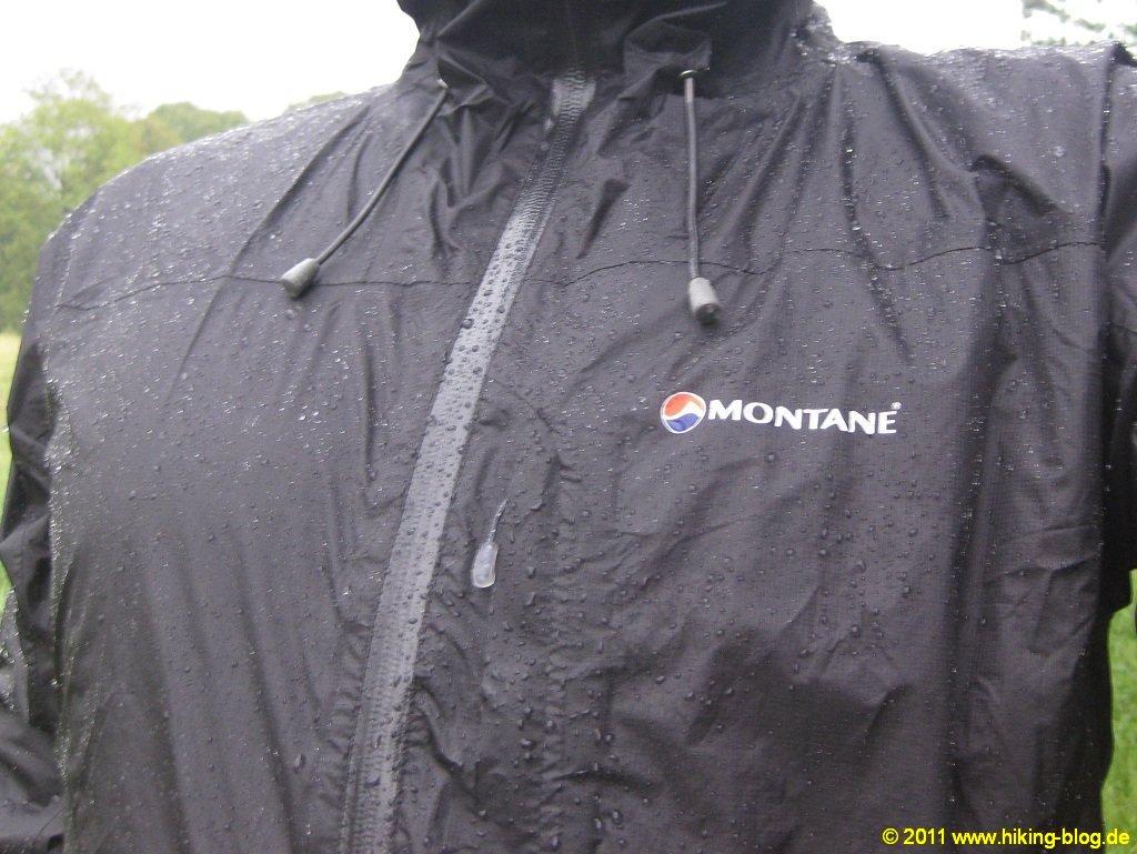 Extra leichte regenjacke