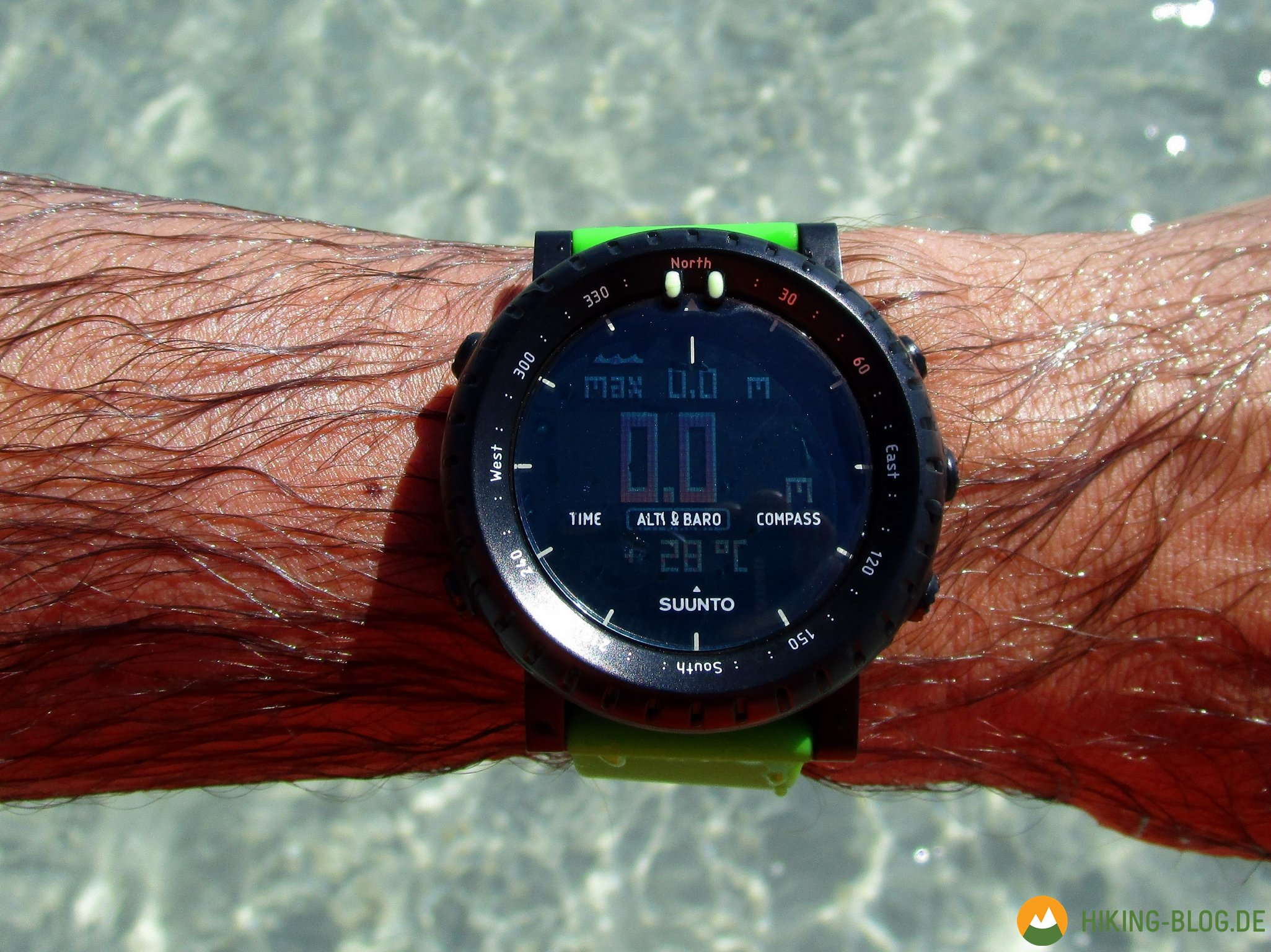 Praxistest Suunto Core Green Crush Multifunktionsuhr Hiking Blog Ultimate Black Weitere Testberichte Zur