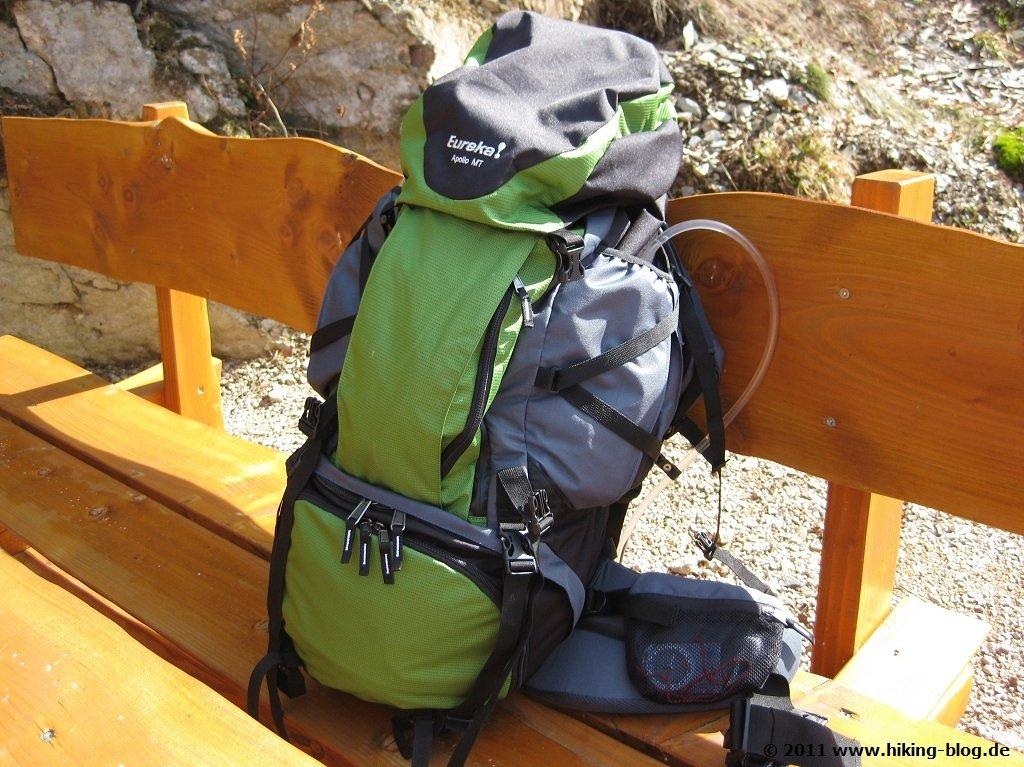 Praxistest: Eureka! Rucksäcke Apollo MT und Archimedes MT - Hiking Blog