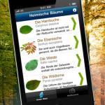 iPhone App Waldkulturerbe entdecken