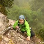 Meine erste Klettersteigtour in der Kletterarena Kaiserwinkl