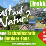 trekking-Magazin – die neue junge Outdoor-Zeitschrift
