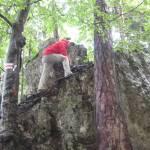 Wanderung über den Eibgrat-Felsensteig in der Fränkischen Schweiz