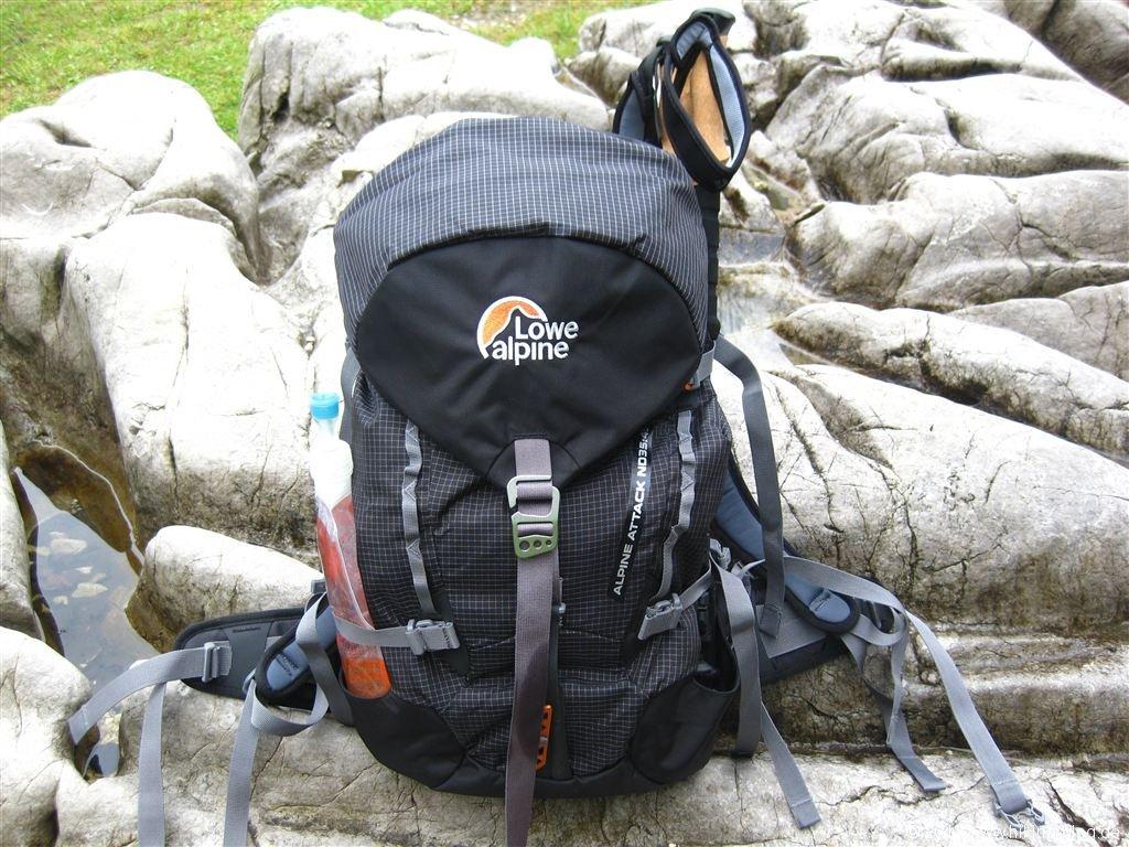 Praxistest: Lowe Alpine Alpine Attack ND 35:45 Rucksack - Hiking Blog