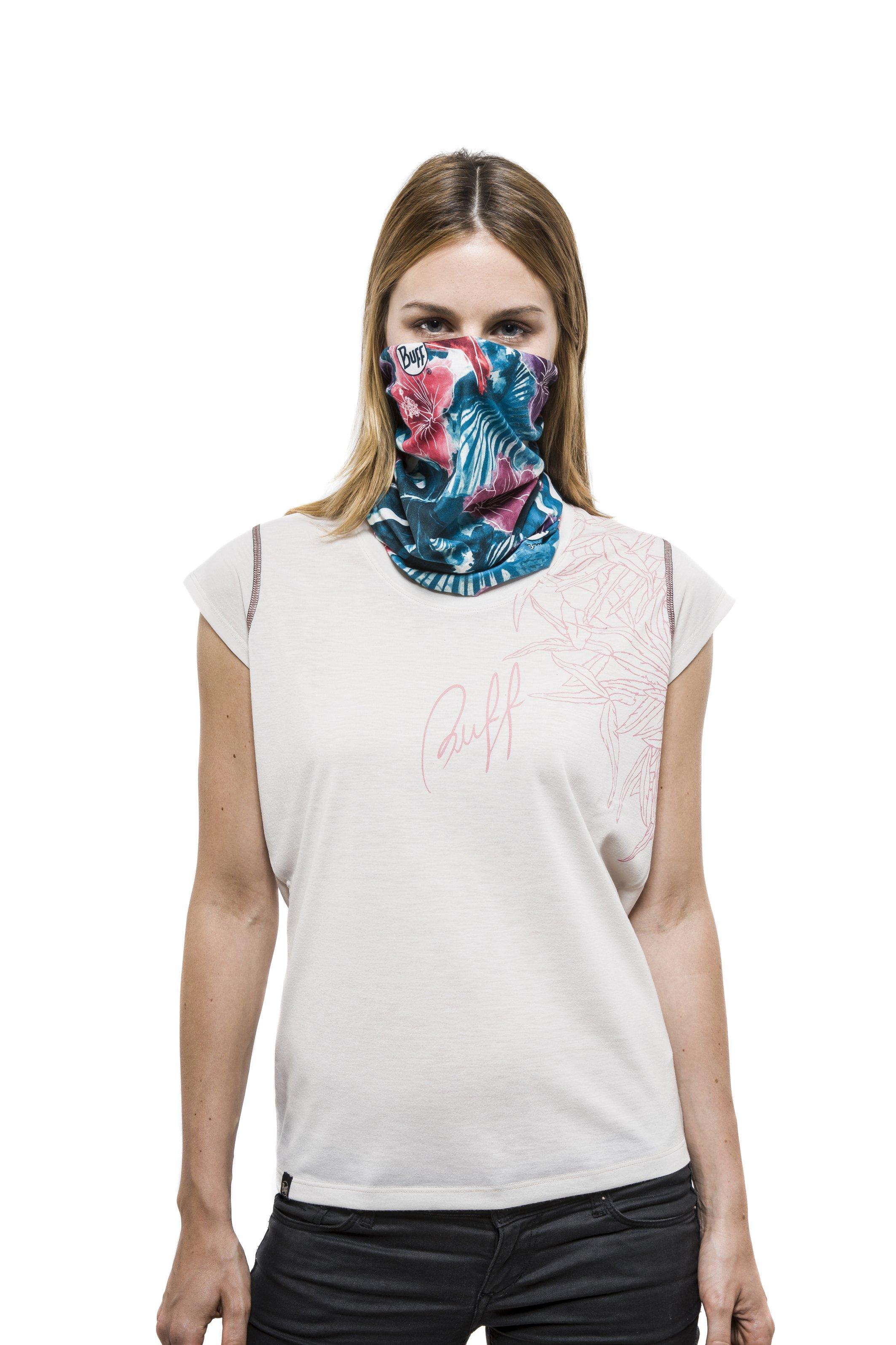 Buff Prsentiert Das Erste Schlauchtuch Mit Integriertem Bandana Outwear Tuch Ultimativem Schutz
