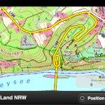 TIM-online mobil: Topographisches Kartenmaterial von NRW für mobile Endgeräte