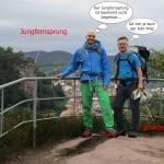 Burgen, Felsen und Mythen: Trekking auf dem Felsenland-Sagenweg - Etappe 1 von Dahn nach Schindhard