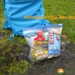 Outdoor-Tipp des Monats: Gegenstände geordnet und trocken verstauen
