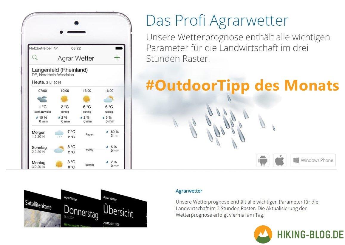 Outdoor Tipp Des Monats Die Ultimative Wetter App Hiking Blog