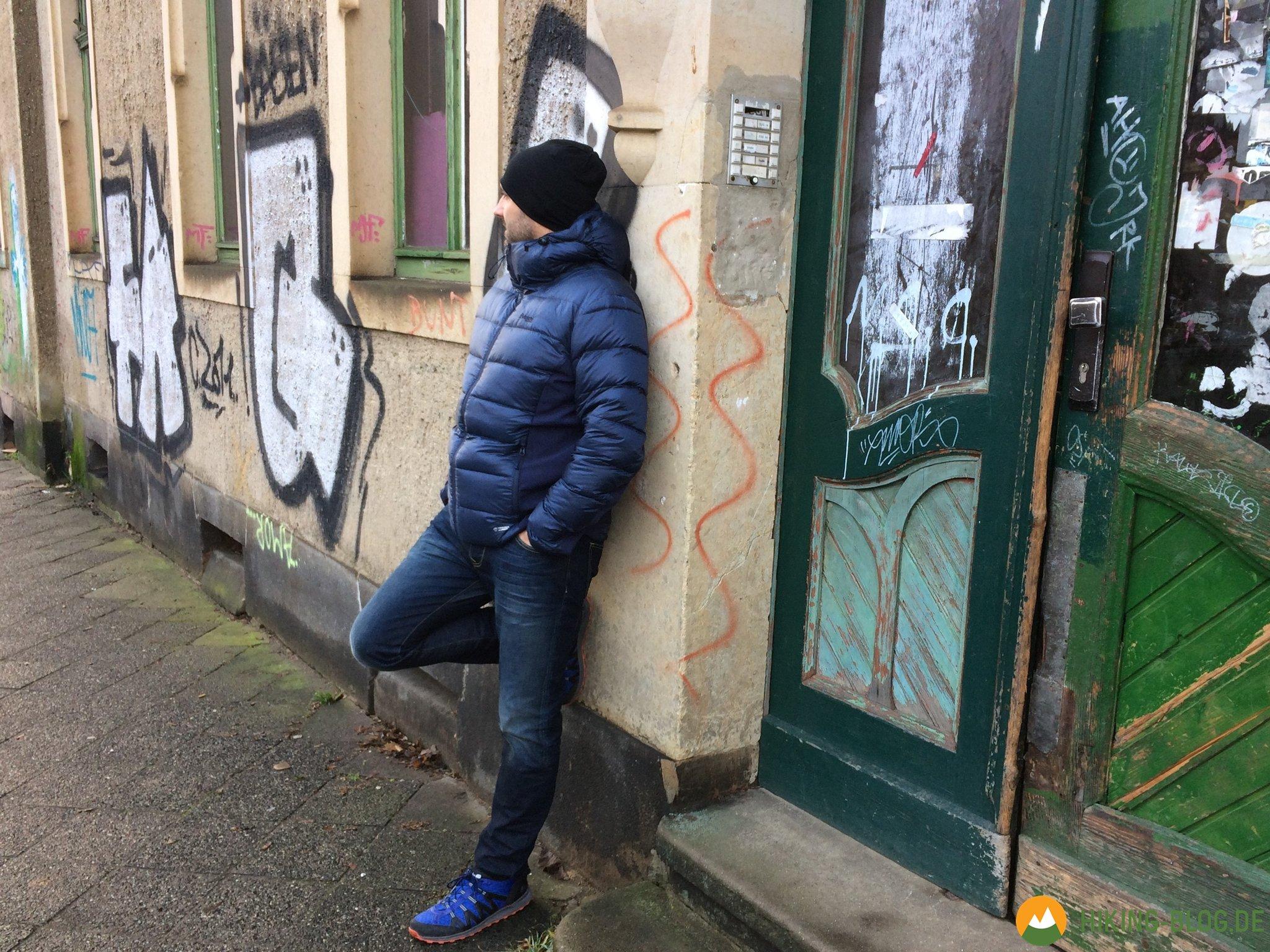 Praxistest: Bergans Myre Down Jacket Stylische Daunenjacke