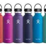 Standard Mouth Isolierflasche von Hydro Flask in neuen Frühlingsfarben