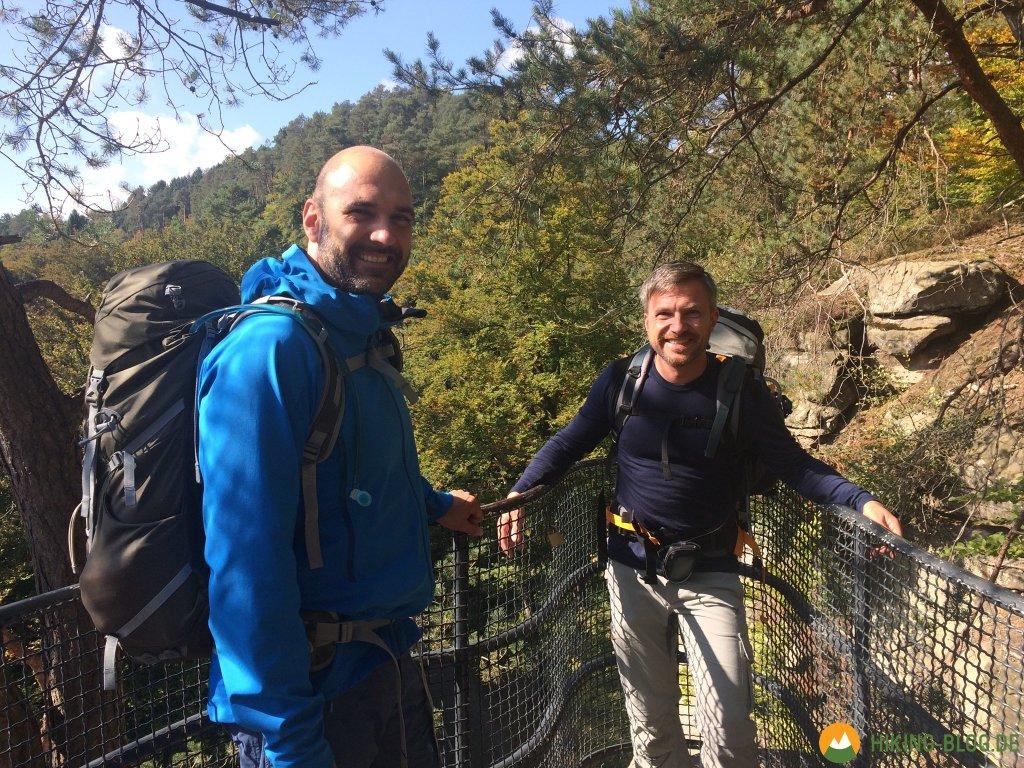 Auf dem Mullerthal Trail durch die Kleine Luxemburger ...