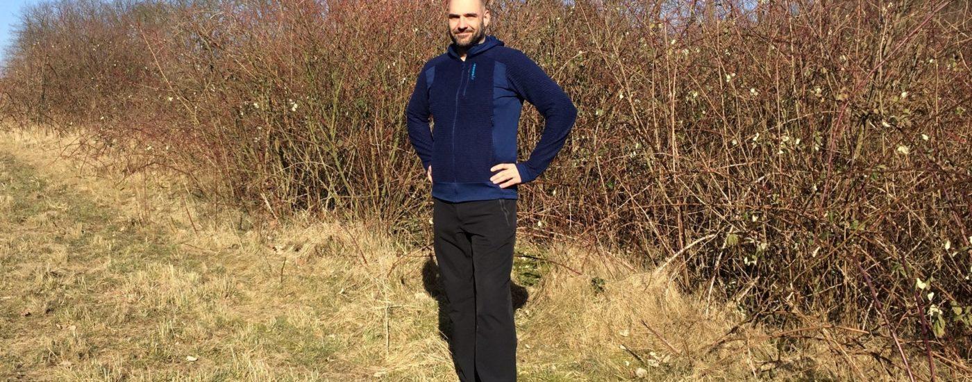 Praxistest: Norrøna Lofoten Alpha raw Zip Hoodie Hiking Blog