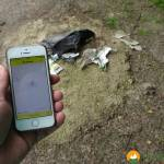 Mit der Dreckpetze illegal entsorgten Müll in Dortmund melden