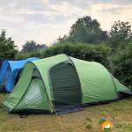 So kannst Du bei großer Hitze Dein Zelt kühl halten