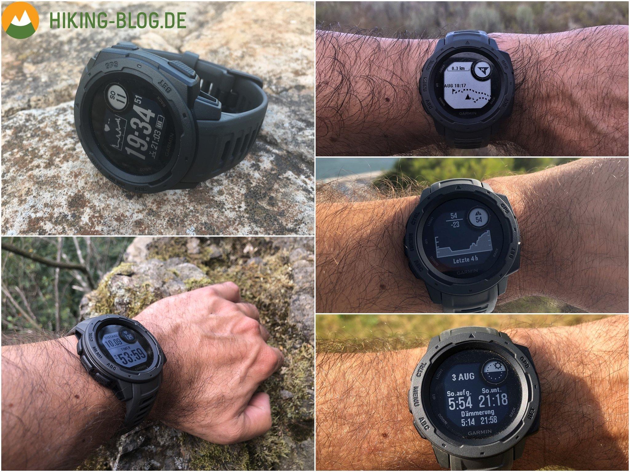 Garmin Instinct Test   Hiking-Blog.de
