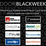 Sichere Dir exklusive Angebote und satte Rabatte beim Outdoor Black Weekend 2019
