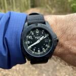 Traser P96 OdP Evolution Black - Robuste Outdoor-Uhr mit Selbstleucht-Technologie [Werbung]