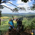 Burgen, Felsen und Mythen: Trekking auf dem Felsenland-Sagenweg - Etappe 4 von Ludwigswinkel nach Bruchweiler