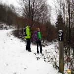 Schneewanderung auf dem Kindelsbergpfad im Siegerland-Wittgenstein