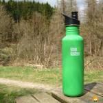Praxistest: Klean Kanteen Classic Edelstahltrinkflasche mit Sport Cap 3.0